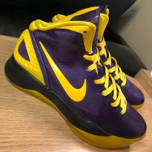 RARE Nike iD Air Hyperdunk 2011 Kobe Lakers Shoes